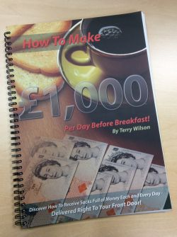 How to Make £1000 Per Day Before Breakfast