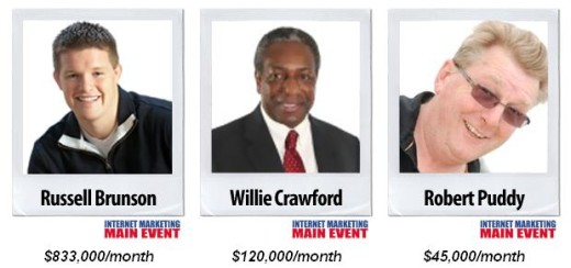 Willie Crawford claims to earn $120,000 per month online